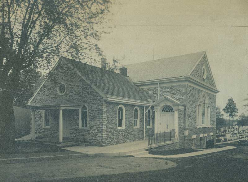 Germantown Meetinghouse around 1965