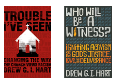 Covers of books by Drew Hart