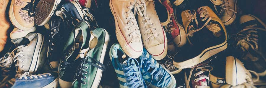 Many shoes