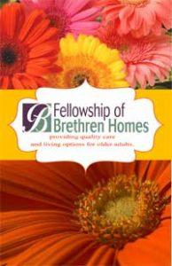 Fellowship of Brethren Homes brochure cover