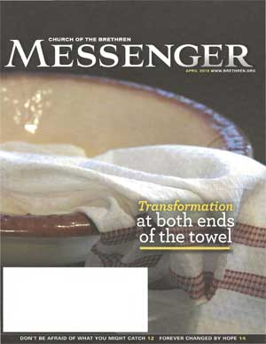 Basin and towel