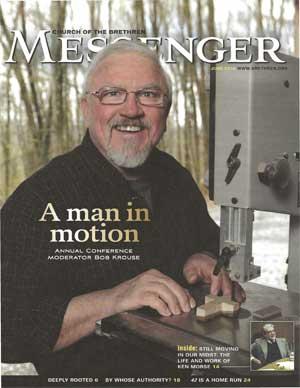 Image of man fixing machine