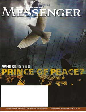 """Dove and words """"Prince of Peace"""""""