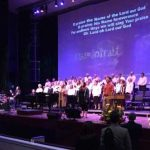 Choir singing at Atlantic Northeast District Conference