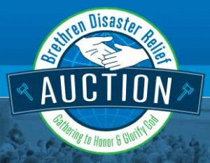 Brethren Disaster Relief Auction logo