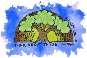 Think about these things (Philippians 4:8)