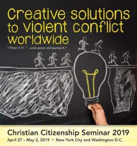 Christian Citizenship Seminar logo 2019
