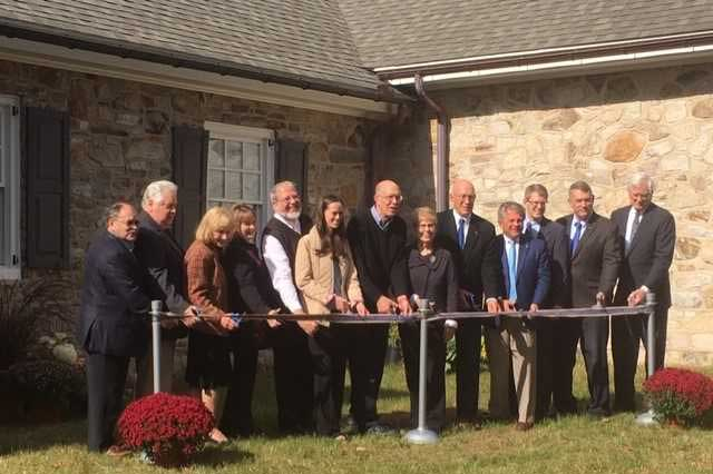 Ribbon-cutting at Elizabethtown College's Young Center