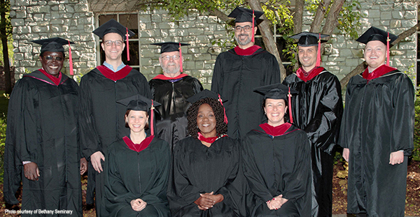 Bethany Seminary 2019 commencement group