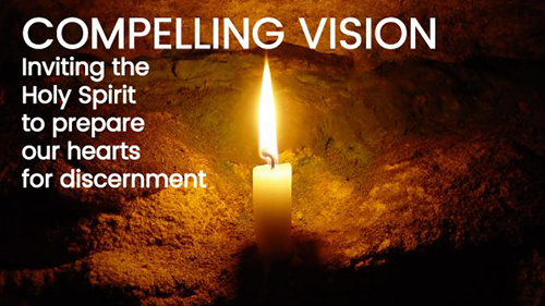 Compelling vision banner, 2019 Annual Conference