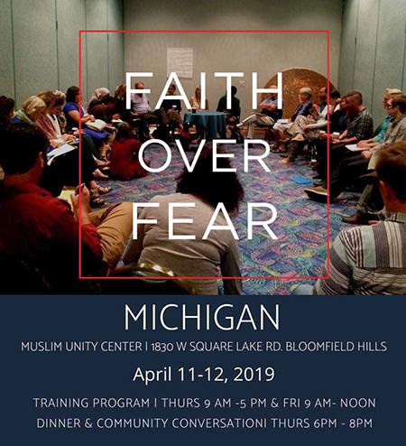 Faith over fear flyer