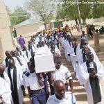 The funeral for Ma Sili Ibrahim