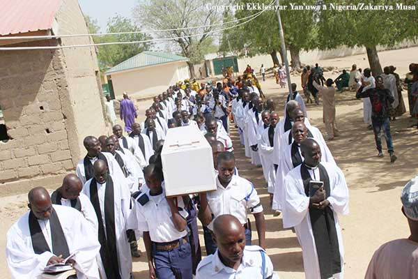 The funeral for Ma Sili Ibrahim