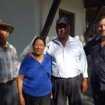 Church members in Llano Grande, Ecuador