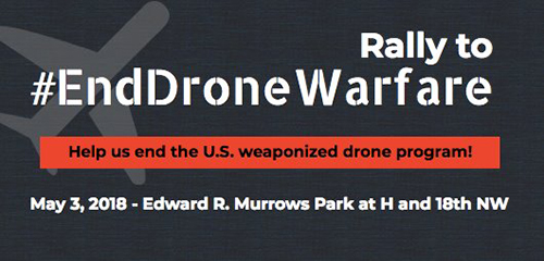 Rally to end drone warfare