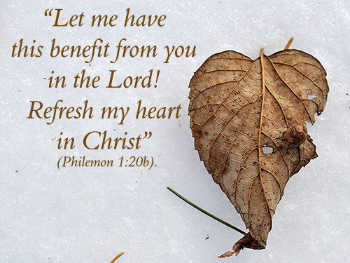 Philemon 1:20b