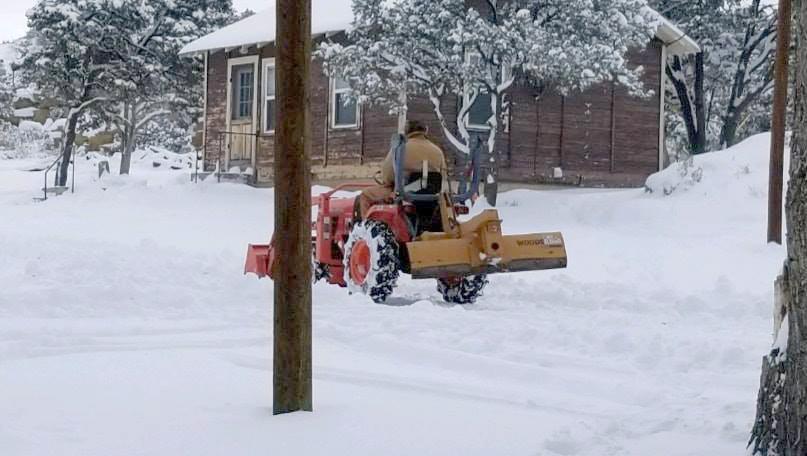 Snow at Lybrook