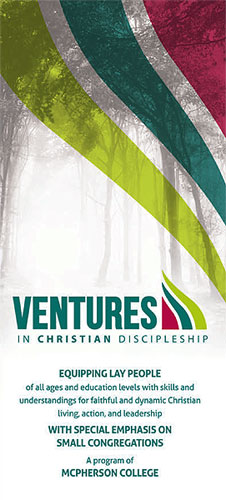 Ventures in christian discipleship flyer