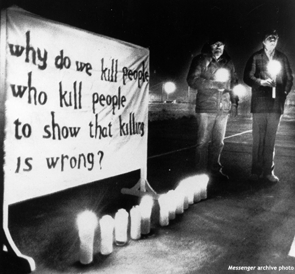 Why do we kill people who kill people to show that killing is wrong?
