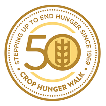 Crop hunger walk logo