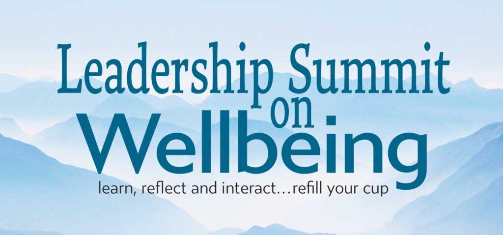 """""""Leadership Summit on Wellbeing"""""""