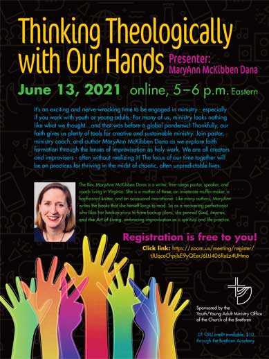 Thinking Theologically with Our Hands webinar